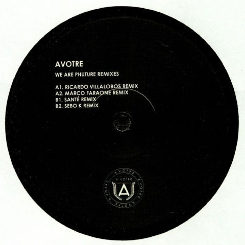 "( AVTRV 001 ) PHUTURE - We Are Phuture Remixes (12"") Avotre Holland"