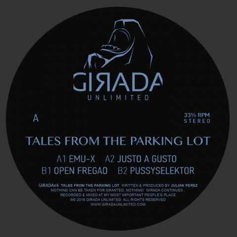 "( GIRADA 08 ) Julian PEREZ - Tales From The Parking Lot (12"") Girada Unlimited Spain"