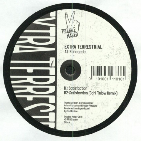 "( TRBLMKR 12003 ) EXTRA TERRESTRIAL - Renegade (12"") Trouble Maker"