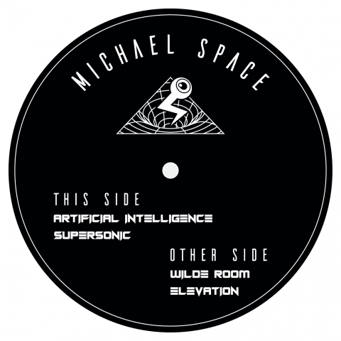 "( SONIC 001 ) MICHAEL SPACE - Beyond The Ego EP 001 (12"") Sonic Interface Records"