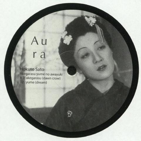 """( AM 005 ) Hokuto SATO -  Akegarasu Yume No Awayuki - 12"""" - Aura Music Japan"""
