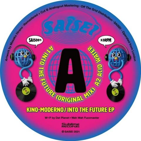 "( SAIS 001 ) KINO-MODERNO - Into The Future EP (12"") SAISEI"