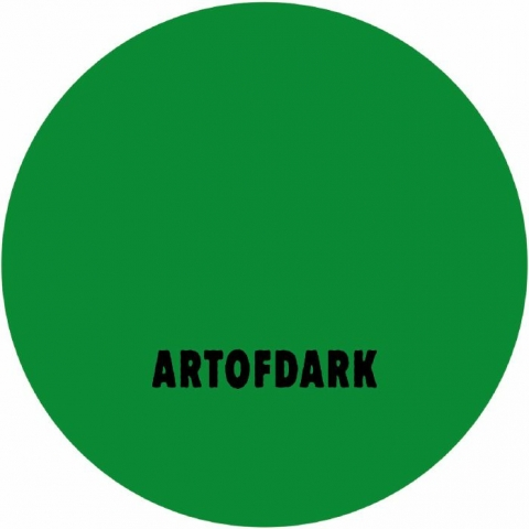 """( AOD 010 ) CENTRAL INTELLIGENCE - The End EP (12"""") Art of Dark"""