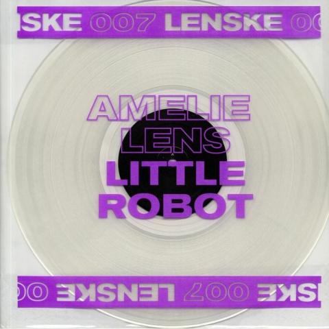 """( LENSKE 007 ) Amelie LENS - Little Robot (transparent vinyl 12"""") Lenske"""