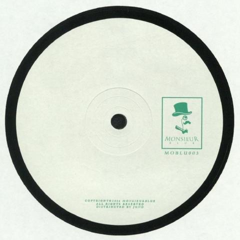 """( MOBLU 003 ) MONSIEUR BLUE - Monsieur Blue 003 (140 gram vinyl 12"""") - Monsieur Blue"""