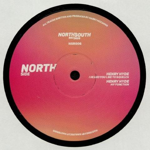 "( NSR 006 ) HENRY HYDE - NSR 006 (140 gram vinyl 12"") NorthSouth"