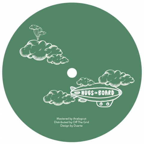 "( NUGS 003 ) Roberto MANOLIO - Emilie's Dream EP (12"") Nugs on Board Portugal"