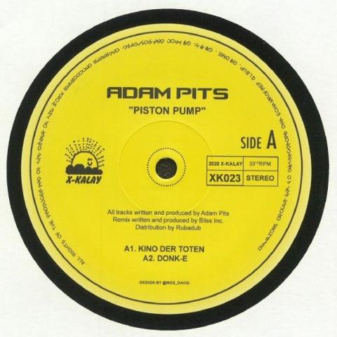 "( XK 023 ) Adam PITS - Piston Pump (12"") X-Kalay"
