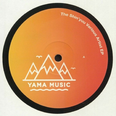 "( YAMU 005 ) BIRDSMAKINGMACHINE / LOCIC / DAN FORMLESS / YAMA MUSIC / TIJN - The Shin'yuu Various Artist EP (12"") Yama Music"