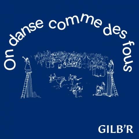 """( VERLP 42 ) GIB'R - On Danse Comme De Fous ( 12"""" LP ) Versatile France"""