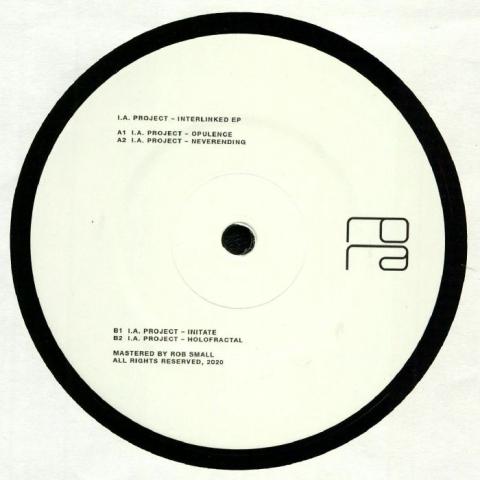 "( RORA 020 ) IA PROJECT - Interlinked EP (heavyweight vinyl 12"") Rora Switzerland"