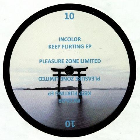 "(  PLZ 010LTD ) INCOLOR - Keep Flirting EP (12"") - Pleasure Zone Germany"