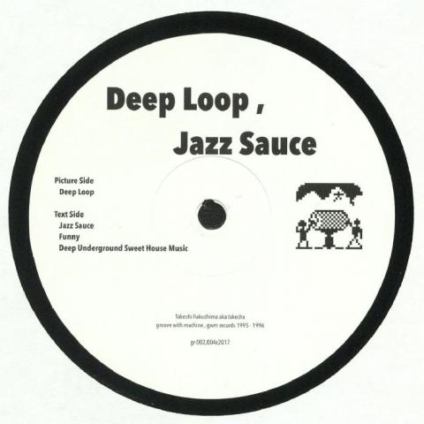 """( GR 002004C2017 ) TAKECHA - Deep Loop Jazz Sauce (12"""") - GWM Japan"""