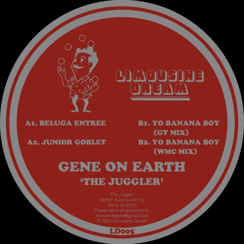 "( LD 005 ) Gene On Earth - The Juggler ( 12"") Limousine Dream"