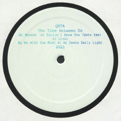 "( LNEG 012 ) QETA / FORLON - The Time Between Us (hand-stamped 12"" limited to 250 copies) La Beaute Du Negatif"