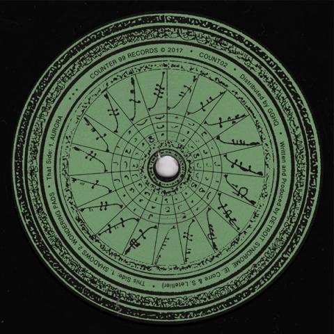 "( COUNT 02 ) DETROiT SYNDROME - Count 02 ( 12"" vinyl ) Counter 99"