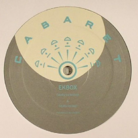 "( CABARET 009 ) EKBOX - Tidally Locked EP (12"") - Cabaret Japan"