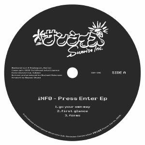 ( SUN-ONE )  iNFO - Press Enter -  Mini LP - Sunrise Inc.