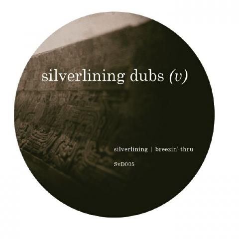 """( SVD 005 ) SILVERLINING - Silverlining Dubs (V) (180 gram vinyl 12"""" repress) Silverlining Dubs"""
