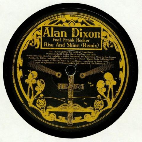 "(  LIH 036 ) Alan DIXON - Rise & Shine (Marcel Vogel remix) (140 gram vinyl 12"") Lumberjacks In Hell"