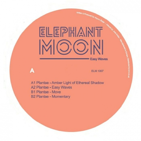 "( ELM 100 )  PLANTAE - Easy Waves (140 gram vinyl 12"") Elephant Moon"