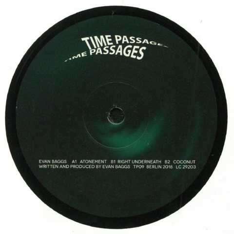 "( TP 09 ) Evan BAGGS - Atonement (12"") Time Passages Germany"