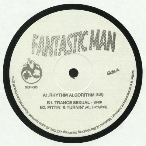 """( SCR 006 ) FANTASTIC MAN - Rhythm Algorithm (12"""") Superconscious"""