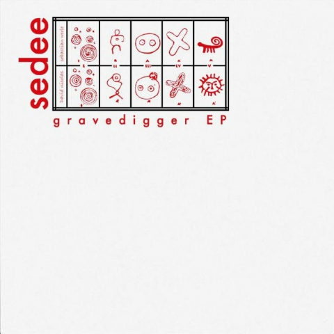 "( WI 005 ) SEDEE - Gravedigger EP (12"") What If Spain"