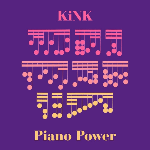 "(  RB 081 ) KINK - Piano Power (12"") Running Back Germany"