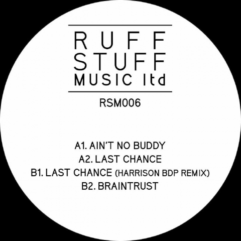 "( RSM 006 ) RUFF STUFF - RSM 006 (12"") Ruff Stuff Music Ltd"