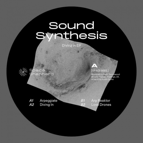 "( SPACES 001) SOUND SYNTHESIS - Diving In EP (12"") Space Shepherd"