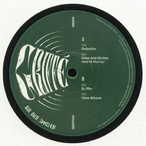 """( GRFF 004 ) ISH - K1ll R1cH 3rr03 EP (12"""") Griffe"""