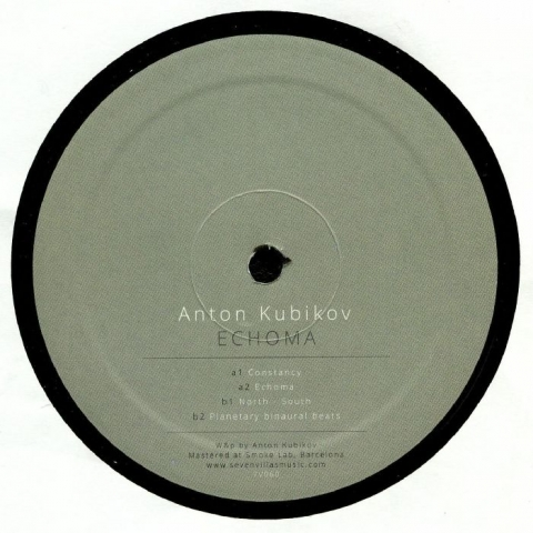 "(  7V 060 )  Anton KUBIKOV - Echoma (heavyweight vinyl 12"") Seven Villas Spain"