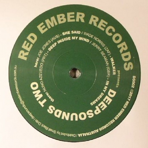 "( DS 002 ) Joe JONES / WADE NORRIS / NUNO AZEVEDO / JERRY SEAMAN - Deepsounds Two (12"") - Red Ember Australia"
