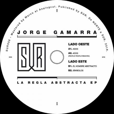 """( SUR 006 ) Jorge GAMARRA - La Regla Abstracta EP (12"""") Sur Berlin"""