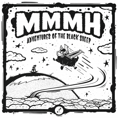 "( LMBG 09 ) MMMH - Adventures Of The Black Sheep EP (12"") Lumbago"