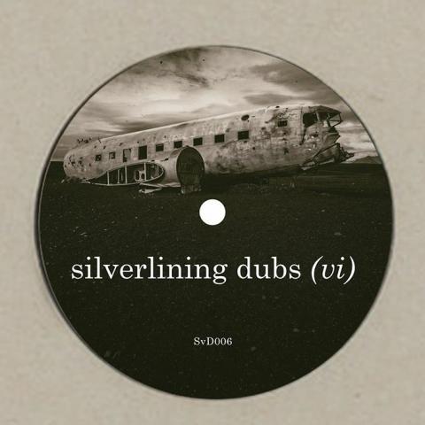 """( SVD 006 ) SILVERLINING - Silverlining Dubs (VI) (180 gram clear vinyl 12"""") Silverlining Dubs"""