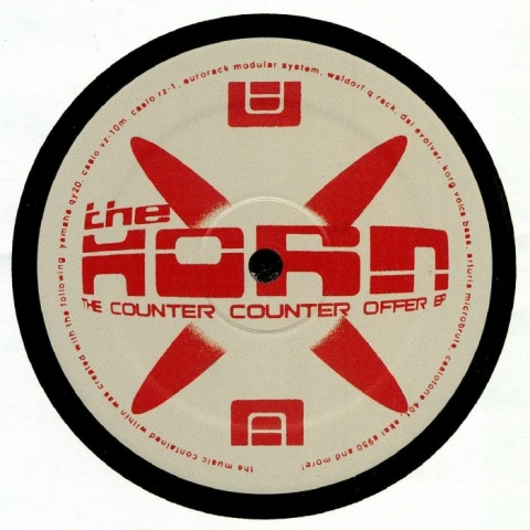 "( WRECKS 021 ) The HORN - The Counter Counter Offer EP (12"") Klasse Wrecks"