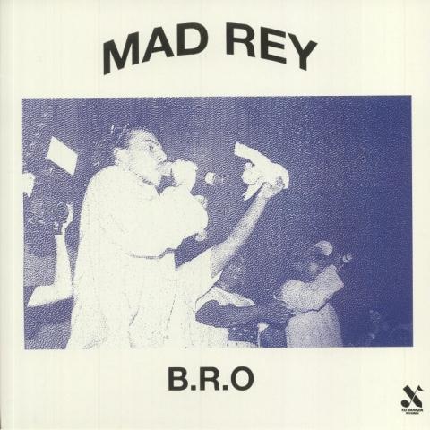 "( BEC 5907199 ) MAD REY - B.R.O. ( vinyl 12"" ) Ed Banger Records"
