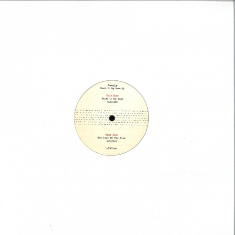 """( ATWT 009 ) SWEELY - Beast In My Bass EP (repress 12"""") Automatic Writing France"""