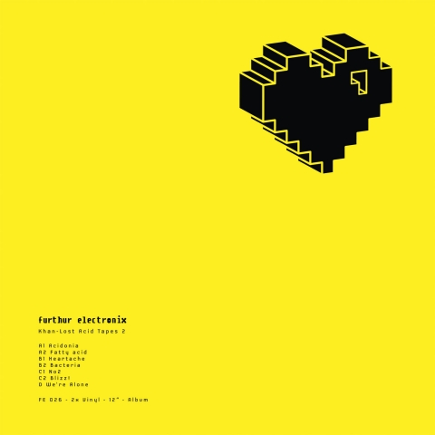 (FE 026) Khan – Lost Acid Tapes 2 – 2×12″ Furthur Electronix