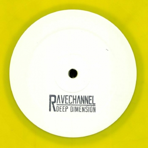 "( GENX 002 ) GEN X -  Rave Channel (hand-stamped yellow vinyl 12"" + insert) Gen X Holland"