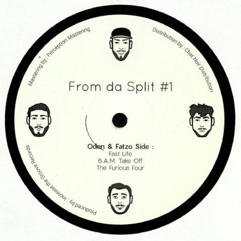 """( ITGR 009 ) ODEN & FATZO/KIZOKU / LUKS - From Da Split #1 (12"""") Increase The Groove France"""