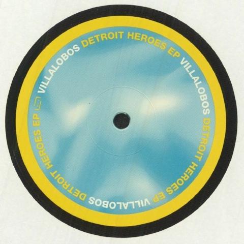 "(  MUSIK 098 ) Ricardo VILLALOBOS - Detroit Heroes EP (12"" repress) (1 per customer) Raum Musik Germany"