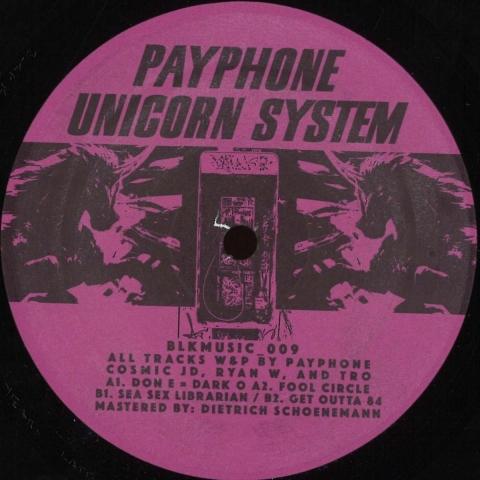 "( BLKMUSIC_009 ) PAYPHONE - UNICORN SYSTEM (12"") BLKMARKET MUSIC"