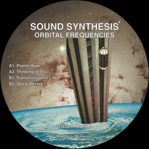 """( DWT 010 )  SOUND SYNTHESIS - Orbital Frequencies  (12"""" Vinyl) Distant Worlds"""