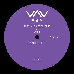 "( YAY 014 ) IAN F &  FERNANDO COSTANTINI - Combination EP (12"") YAY Recordings"