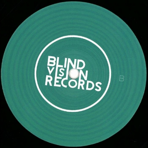 "(  BVR 017 ) MONTEKI - Mosquito EP (12"") Blind Vision"