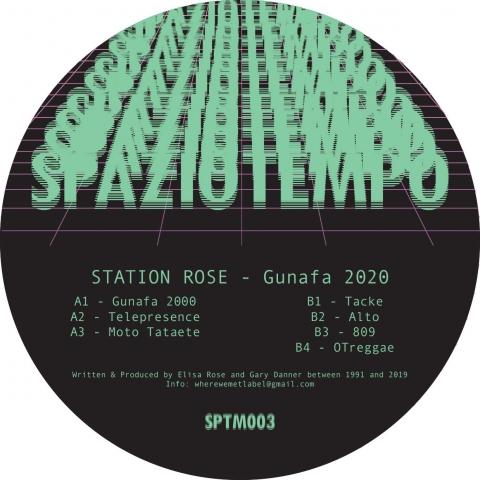 "( SPTM 003 ) STATION ROSE - Gunafa 2020 (12"") Spaziotempo"