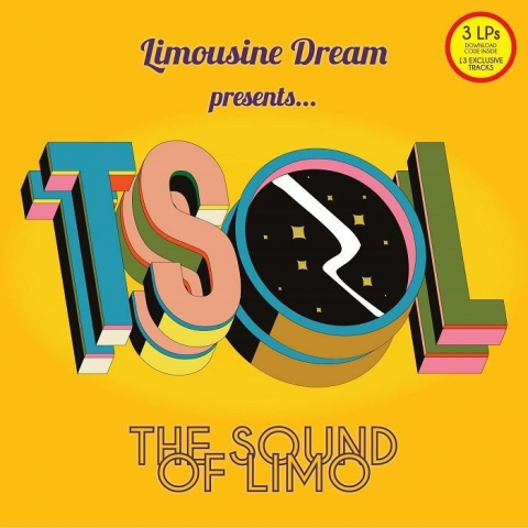 ( TSOLLP 1 ) VARIOUS - The Sound Of Limo (3xLP + MP3 download code) Limousine Dream US